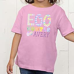 Egg Hunter Personalized Toddler T-Shirt