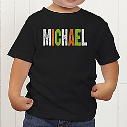 All Mine! Halloween Personalized Toddler T-Shirt