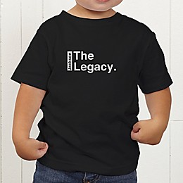 The Legend Continues Personalized Toddler T-Shirt