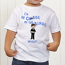 Our Ring Bearer Personalized Toddler T-Shirt