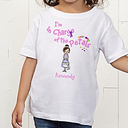 Our Flower Girl Personalized Toddler T-Shirt