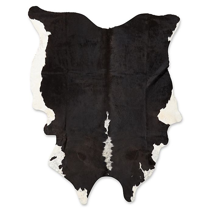Alternate image 1 for Mina Victory 4'6 x 5'6 Handcrafted Area Rug in Black/White