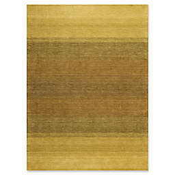 Calvin Klein® Linear Glow Hand-Dyed 7'9 x 10'10 Area Rug in Verbena