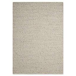Calvin Klein Lowland 4' x 6' Handwoven Area Rug in Cream/Grey