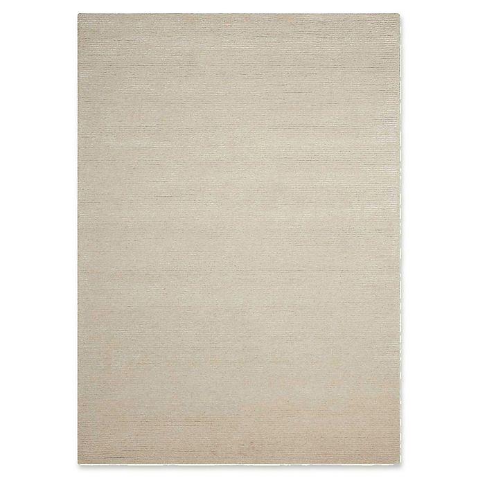 Alternate image 1 for Calvin Klein® Ravine Hand Tufted 5'3 x 7'5 Area Rug in Bone