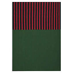 Calvin Klein® Nashville 12 South Handmade Area Rug in Hunter Green/Magenta/Black