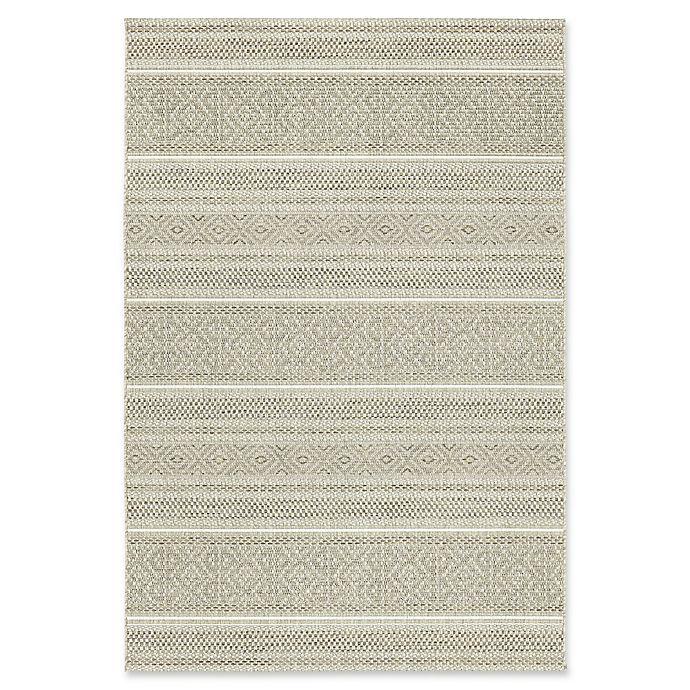 Alternate image 1 for Bee & Willow™ Home Riverview Indoor/Outdoor Rug in Tan