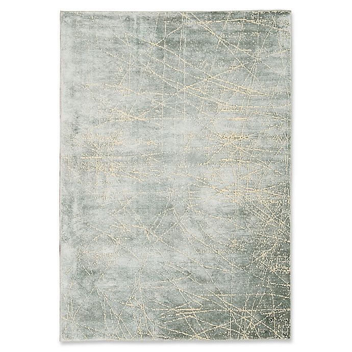 Alternate image 1 for Calvin Klein® Home Maya Etched Area Rug in Mercury
