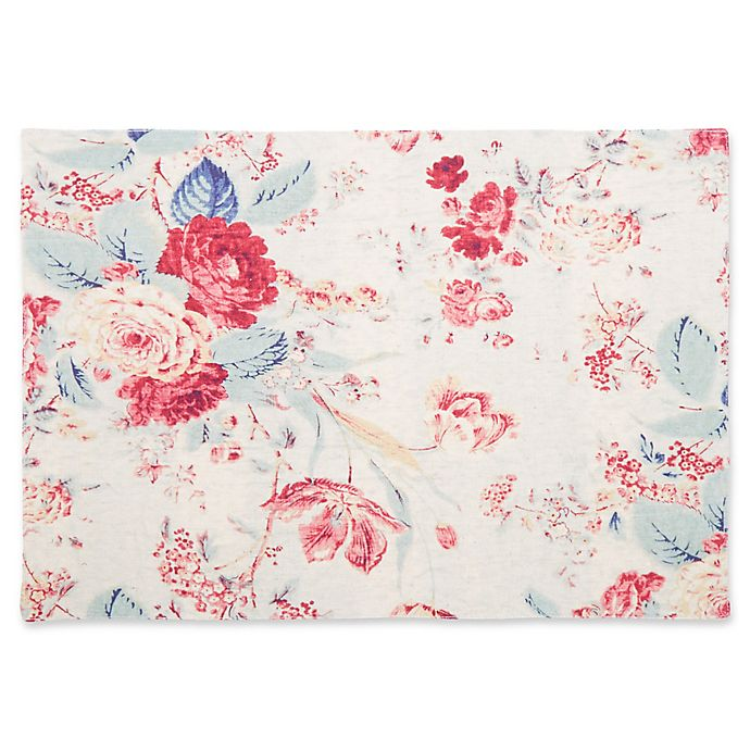 Alternate image 1 for Bee & Willow™ Home Reversible Floral Placemat
