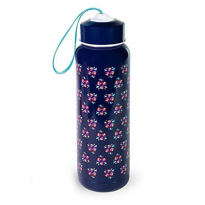 Alternate image 1 for Vera Bradley® Butterfly Flutter 17 oz. Stainless Steel Water Bottle