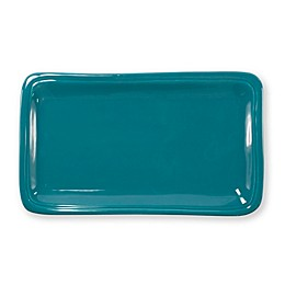 viva by VIETRI Fresh 12-Inch Rectangular Platter in Teal