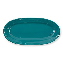 viva by VIETRI Fresh 16.25-Inch Narrow Oval Platter in Teal