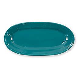 viva by VIETRI Fresh 16.25-Inch Narrow Oval Platter in Teal