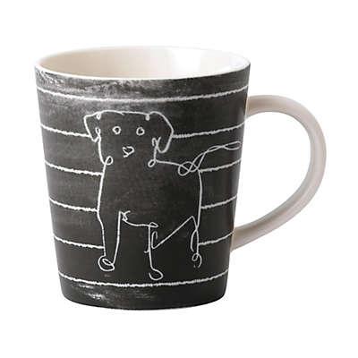 "ED Ellen DeGeneres Crafted by Royal Doulton® ""Be Kind"" Mug in Chalkboard Grey"
