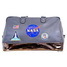 NASA Lifestyle Duffle Bag in Grey