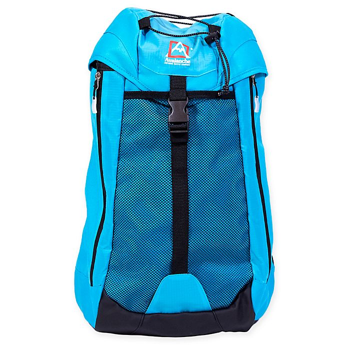 Alternate image 1 for Avalanche® Jenks Cinch Outdoor Backpack in Cyan