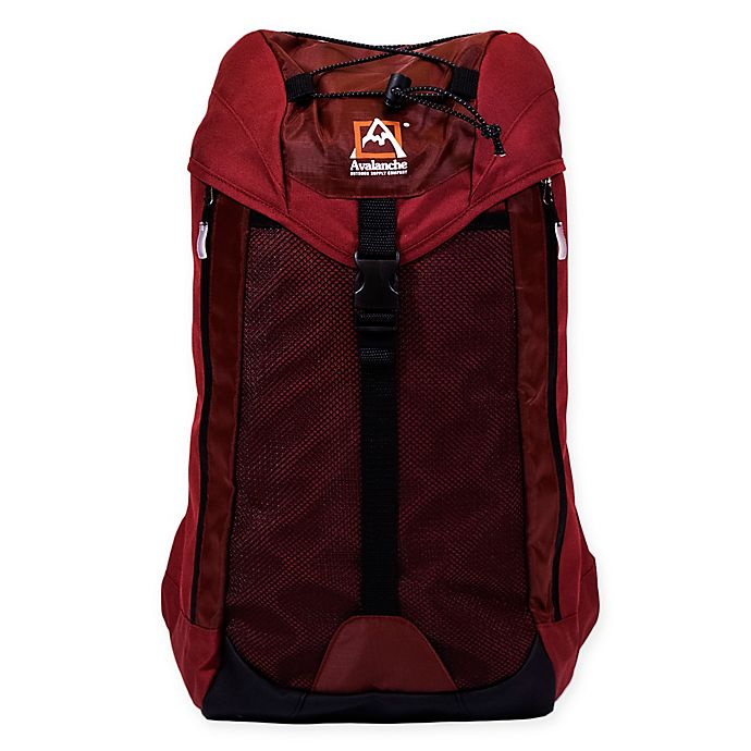 Alternate image 1 for Avalanche® Jenks Cinch Outdoor Backpack in Brick