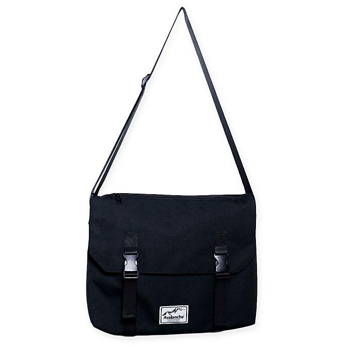 Alternate image 1 for Avalanche® Quincy Messenger Bag in Black
