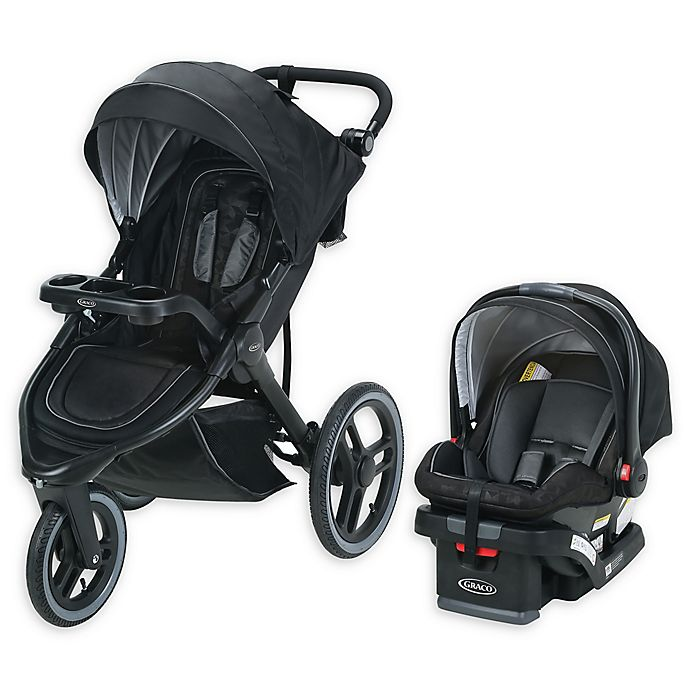 Alternate image 1 for Graco® FitFold™ Jogger Travel System in Kane