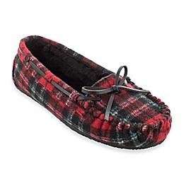 Minnetonka® Cally Plaid Women's Slippers