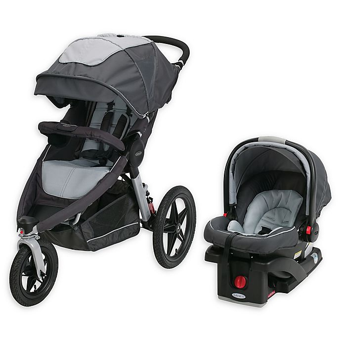 Alternate image 1 for Graco® Relay™ Jogger Travel System in Glacier™