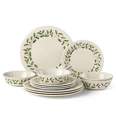 Lenox Holiday  Piece Classic Dinnerware Set