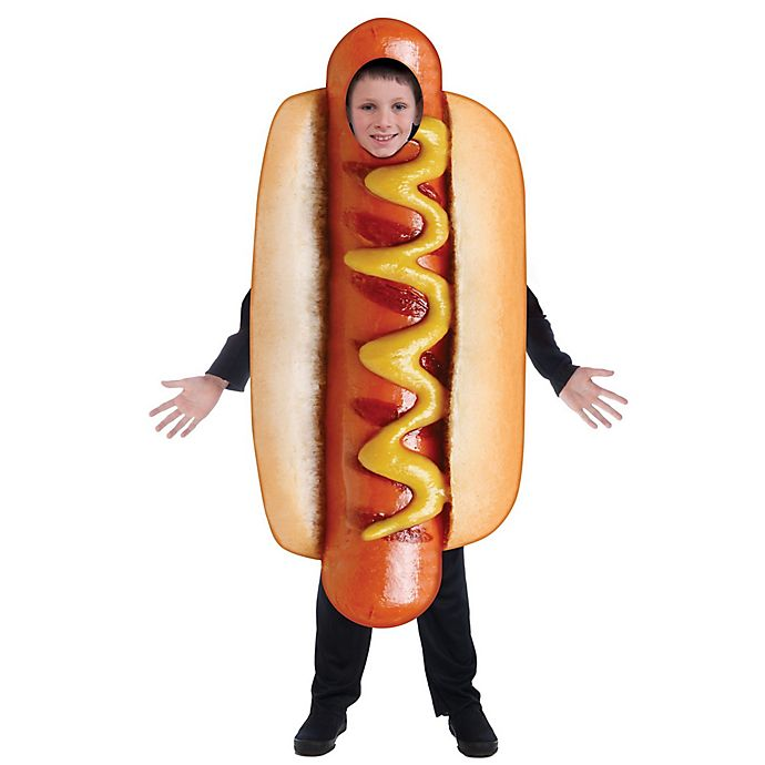 Alternate image 1 for Hot Dog One-Size Child's Halloween Costume