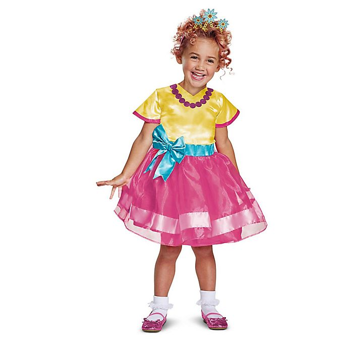 Alternate image 1 for Fancy Nancy Classic Children's Size 3T-4T 2-Piece Costume