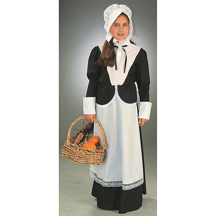 Alternate image 1 for Forum Pilgrim Girl Child's Halloween Costume