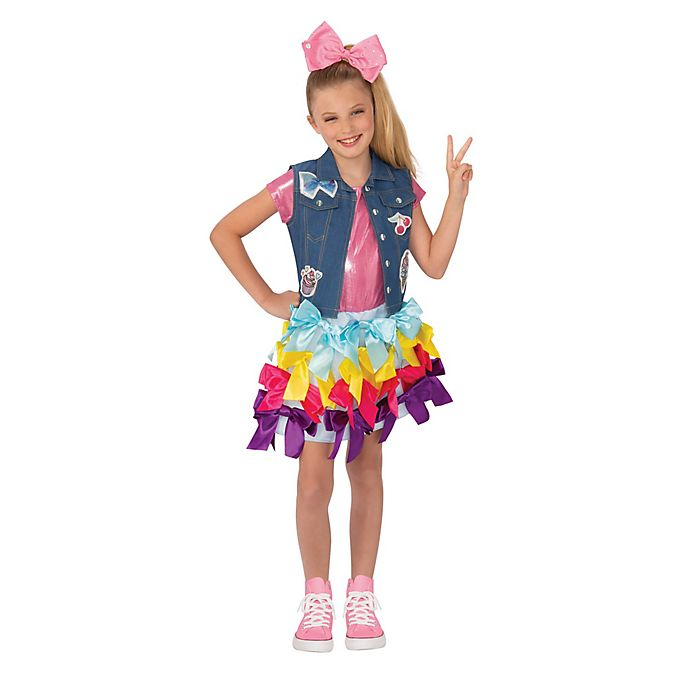 Alternate image 1 for Jojo Siwa Bow Dress Child's Halloween Costume