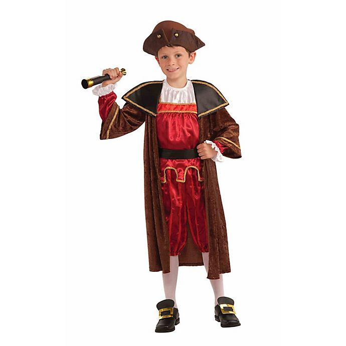 Alternate image 1 for Christopher Columbus Child's Halloween Costume