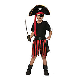 Pirate One-Size Child's Halloween Costume Kit