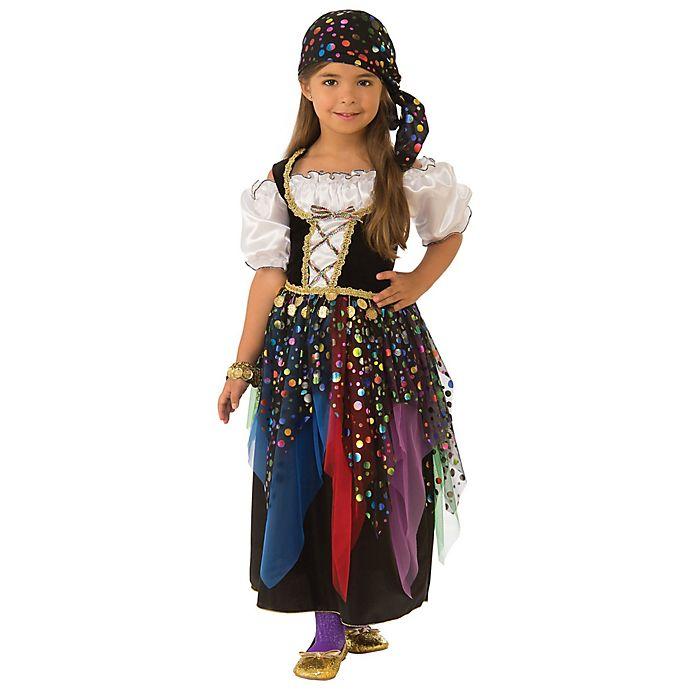Alternate image 1 for Medium Gypsy Child's Halloween Costume