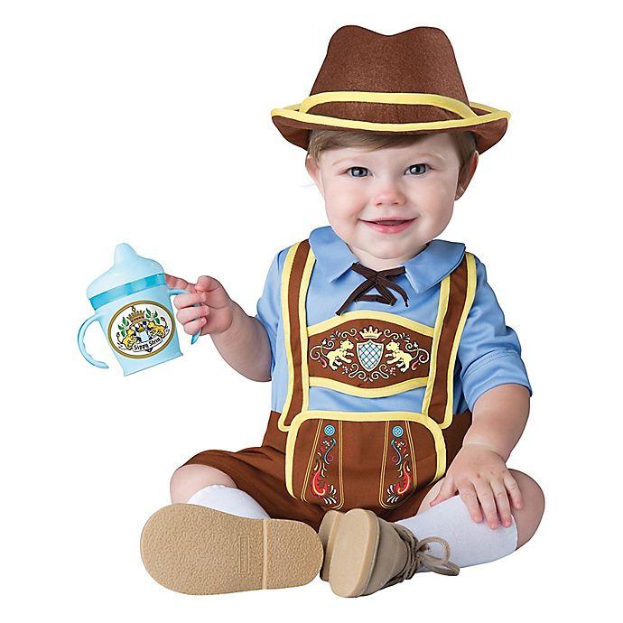 Alternate image 1 for Little Lederhosen Infant's Medium Halloween Costume