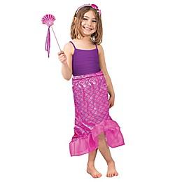Pink Mermaid Skirt Children's Halloween Costume