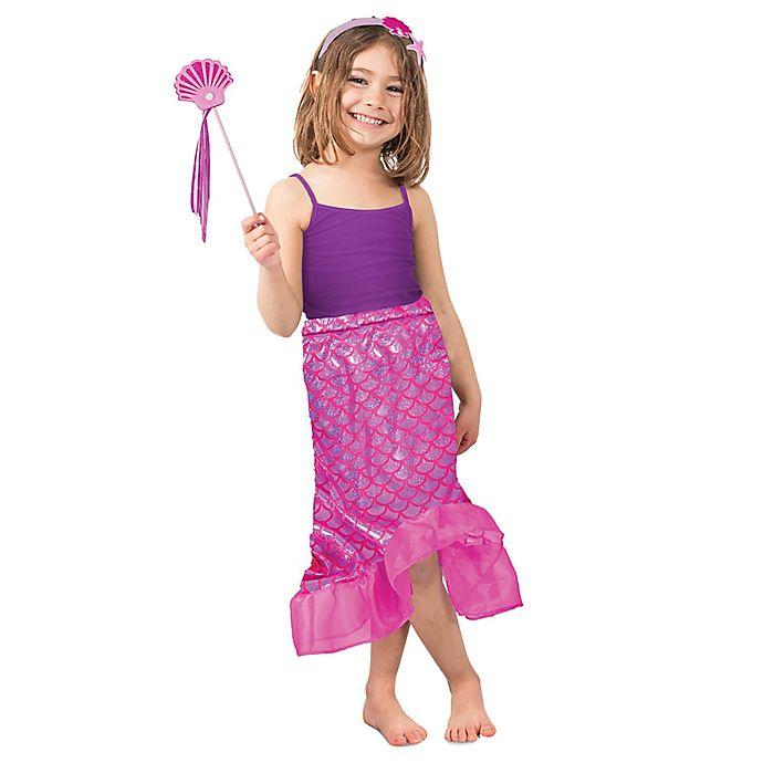 Alternate image 1 for Pink Mermaid Skirt Children's Halloween Costume