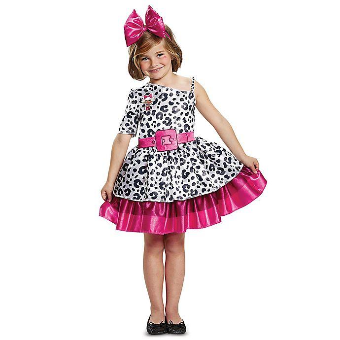 Alternate image 1 for L.O.L. Dolls Diva Classic Children's Medium Halloween Costume