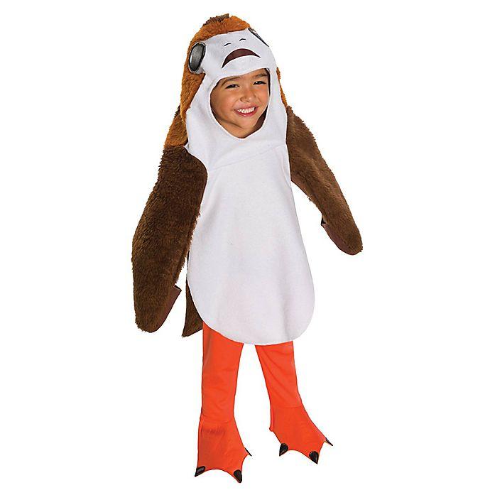 Alternate image 1 for Star Wars™ The Last Jedi Deluxe Porg Toddler Halloween Costume