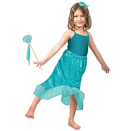 Mermaid Skirt Set X-Small/Small Child's Halloween Costume in Blue