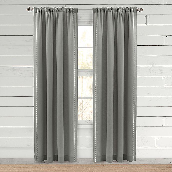 Bee & Willow™ Farmhouse Hanley Rod Pocket Window Curtain