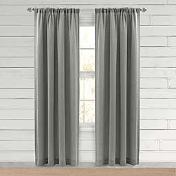 Bee & Willow™ Farmhouse Hanley Rod Pocket Window Curtain Panel