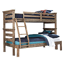 Hillsdale Furniture Oxford Oliver Bunk Bed in Cocoa