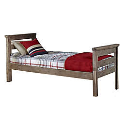 Hillsdale Furniture Oxford Oliver Twin Panel Platform Bed in Cocoa