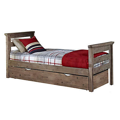 Hillsdale Furniture Oxford Oliver Bed with Trundle in Cocoa