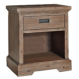 Hillsdale Furniture Oxford Single-Drawer Nightstand in Cocoa