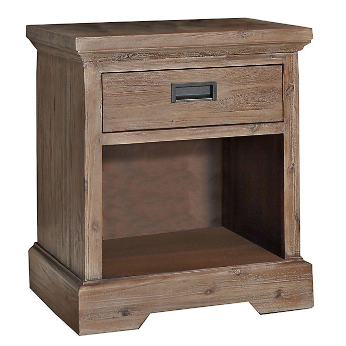 Alternate image 1 for Hillsdale Furniture Oxford Single-Drawer Nightstand in Cocoa
