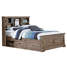 Hillsdale Furniture Oxford Bookcase Platform Bed with Storage
