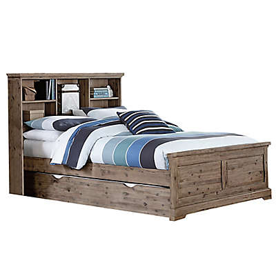 Hillsdale Furniture Oxford Bookcase Platform Bed with Trundle