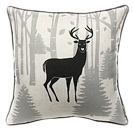 HUI Resource Forest Trail Square Throw Pillow