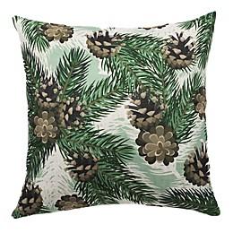 HUI Resource Rocky Mountain Square Throw Pillow